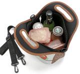 卸し売り屋外旅行によって絶縁されるネオプレンのピクニッククーラーの昼食袋