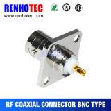 Type de sertissage mâle de BNC et connecteur femelle pour le câble Rg59
