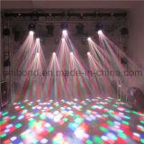 Neu! ! ! Berufsträger-Licht des stadiums-12PCS 10W mini bewegliches des Kopf-LED, LED 4in1, bewegliches Träger-Licht