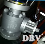 Тип Ce пневматический плавая выковал ый шариковый клапан установленный Trunnion