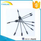 Connettore di cavo Y-Solare del comitato solare di 50pair/Lot Mc4y-B4 30A DC1000V