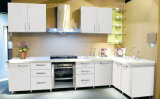 Modules de cuisine acryliques modernes de configuration de configuration de fleur
