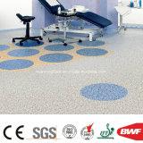 Qualitäts-antibakterielle Behandlung Belüftung-Wohnvinylfußboden dichtes Bottom-2mm