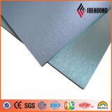 De geborstelde Binnenlandse Kleur Met een laag bedekte Plaat van het Aluminium (geborstelde reeks)