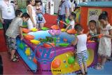 Piscina colorida de la pesca del equipo de la diversión de la venta caliente para el patio de los niños (ZJ-WA15)