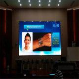 Parede interna eficaz elevada do vídeo da visualização óptica de cor cheia P6 SMD