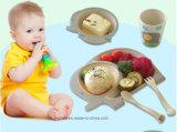 BPA는 놓인 대나무 섬유 식기 아이 식기류를 해방한다 (BC-BB-SU2008)