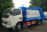 Dongfeng 4X2 4500 carro de la compresa de la basura M3 del carro de basura del compresor del kilogramo 4.5