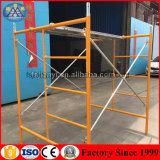Das angestrichene H Rahmen-Baugerüst des Primärstruktur-Baugerüst-kundenspezifische Farbe