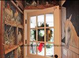 Engranzamento de fio da galinha de Sailin para o frame de madeira