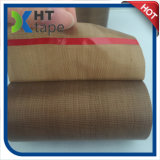Cinta adhesiva cubierta paño del Teflon del silicón del Teflon de la fibra de vidrio
