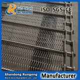 熱い高品質のステンレス鋼の平らな屈曲の金網のコンベヤーベルト