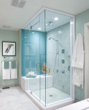 Clear/Frosted Tempered Bathroom Knell/Shower Knell