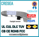 Luz del área del vatio LED del alumbrado público 100 con el cUL de la UL enumerado