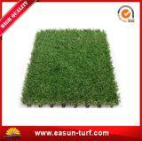 De In het groot Uitstekende kwaliteit die van China de Kunstmatige Tegel van het Gras met elkaar verbindt
