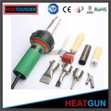 Arma del aire caliente con los accesorios