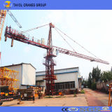 중국 탑 기중기는 건축을%s 6015 10ton 탑 기중기 장비를 제조한다
