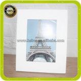 Bâti en bois en bois blanc de revêtement de photo de sublimation de teinture