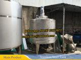 1.000 litros de acero inoxidable del tanque de mezcla con agitador de barrido