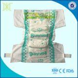 Fabbrica felice della Cina del pannolino del bambino di cura di alta qualità di capacità di assorbimento del pannolino dei coniglietti eccellenti molli dei gemelli