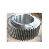 ステンレス鋼の機械で造られたギヤを機械で造る旋盤回転製粉CNC