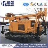 Volle hydraulische Wasser-Vertiefungs-Bohrmaschine für Verkauf (HFW200L)