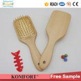 Detanglingの櫛の卸売のカスタム木製のかいヘア・ブラシ中国は製造する(JMHF-126)