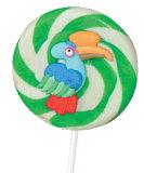 大きい鳥のハンドメイドの飾られたキャンデー