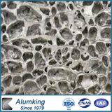 La mousse en aluminium de PVDF a décoré la mousse ignifuge matérielle