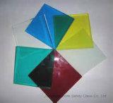 10mm+2.28PVB+10mm (22.28mm) Gehard Gelamineerd Glas met Kleur PVB