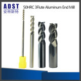 ferramenta de estaca de alumínio do moinho de extremidade de 50HRC 3flute para o CNC