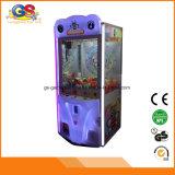 판매를 위한 최고 싼 LED 플라스틱 소형 장난감 아케이드 클로 기계