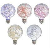[سس] [لد] شمعة [لد] خفيفة [ليغت بولب] شمعة جديدة حديثة [ستين غلسّ] مصباح [إ27] [لد] اصطناعيّة يدهن مصباح