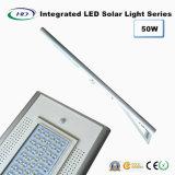 50W PIRセンサー統合されたLEDの太陽街灯