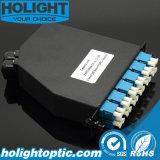 Cassette óptico 2PC MPO/MTP de fibra a 24 bases LC SM