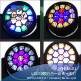 luz de focalização do feixe do diodo emissor de luz 19PCS