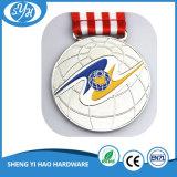 Medalla plateada plata antigua del trofeo de la alta calidad