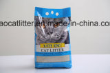 litière du chat de groupement de bentonite de 1-3.5mm