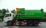 Dongfeng 6X4 25 van de Haak Ton van de Vrachtwagen van het Wapen met het Samenpersen van Apparatuur