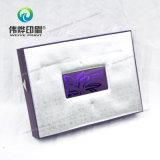 Caixa de empacotamento da impressão cosmética maravilhosa com carimbo quente