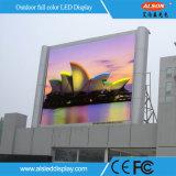 옥외 풀 컬러 SMD P8 발광 다이오드 표시 스크린