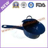 Эмали овальный Roaster+Bucket+Pan+Pot пользы стали углерода комплект Cookware напольной
