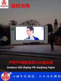 P6 192mm*192m m a todo color al aire libre pantalla de exploración del módulo de la visualización de 8 parámetros