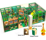 Beifall-Unterhaltungs-Dschungel-themenorientierte Kind-Innenspielplatz