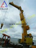grue marine hydraulique électrique de paquet du bateau 100t