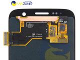 Замена экрана цифрователя касания 100% первоначально для галактики S7 LCD Samsung
