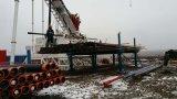 La lunghezza massima dell'asta di perforazione fino alla piattaforma di produzione fatta pendere multifunzionale di 12.5m
