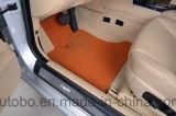 Красный цвет черноты ковра волокна PP кучи петли ноги циновки автомобиля плоский
