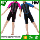 Wetsuits Short-Sleeved dos miúdos do neopreno de Permium (HW-W003)