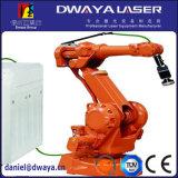 Soldadora óptica robótica de laser 300W de fibra